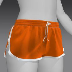 Short shorts Orange