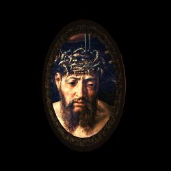 Jesus Oval Frame