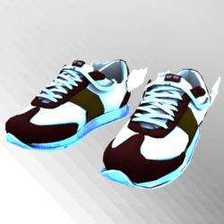 Messenger GlowInDark Red Sneakers