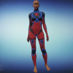 BioArmor ZV01 Body Female Red