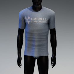 Umbrella Corporation T-Shirt Light Blue