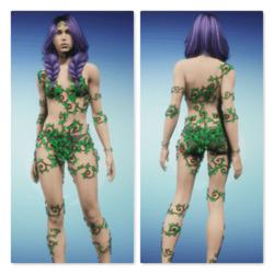 Leafy Vine Fae - Version 1