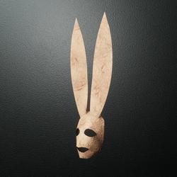 Mr Happy Bunny Mask2