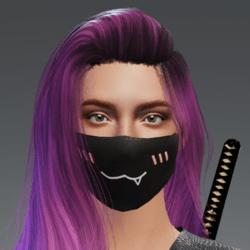 Single Fang Mask