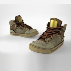 HG GucciiHigh Sneakers