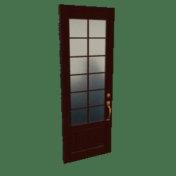 Scripted French Door