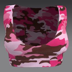 Pink Camo Crop Top
