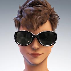Sunni  Hollywood Glasses - Multi Grays Avatar 1