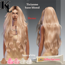 ticianne -base blond-demo-perfect rigged.