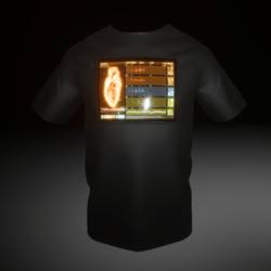 T-Shirt LED Heart SyS
