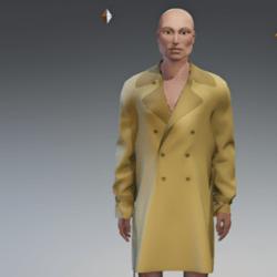 Men Trench Coat #1
