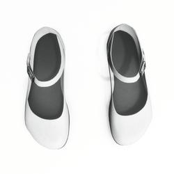 AV 2.0   Mary jane flats - white