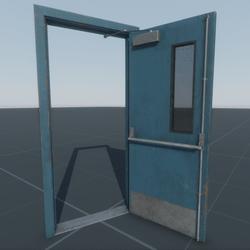 Door Emergency Single (B16WR)