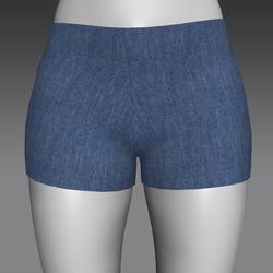 Shorty Shorts - Denim