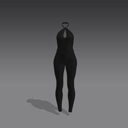 Valentina Bodysuit - Black (MsAquaria)