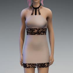 Nudetone Lace Partydress V2