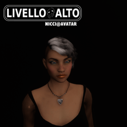 "Shatush""_Tintable Hair for Nicci Avatar"