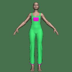 Hemmed Overalls (Lime Green)