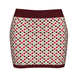 Woman Simple Skirt - Retro
