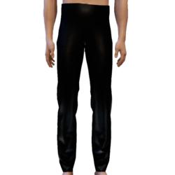Black Pants for Glitter Tuxedo