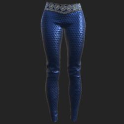 Ucci pants blue
