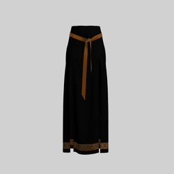 Skirt Briana Black & Gold 2.0