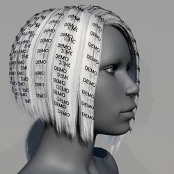Hair - Asymmetrical Bob - Demo