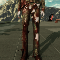 Army Pants for Zombie Avatar