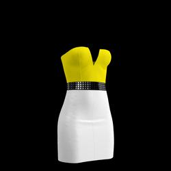 80's Day-Glow Club Dress 18