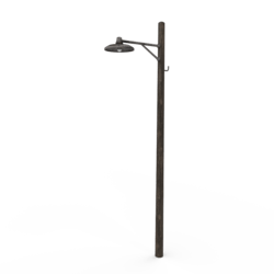 Wooden Light pole