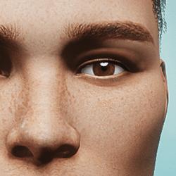 Eyes - Brown - Men's