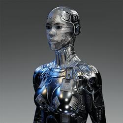 Android Body V6 Chrome for AV2