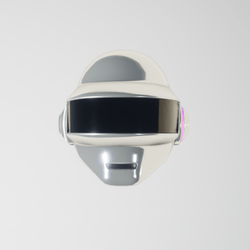 Daft-Pank Helmet Thomas hrome (led animate)
