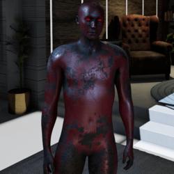 RUSTY MAN  RED