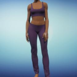 Yoga Outfit - Grape