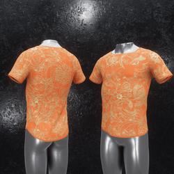 Shirt Ornament orange