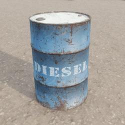 Oil Drum Metal Barrel (Blue Diesel)