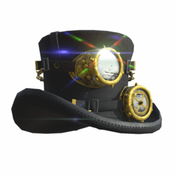 Steampunk Hat Male