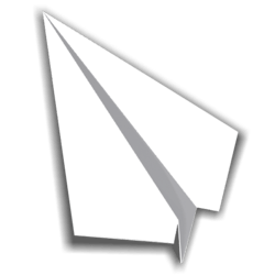 Paper Airplane 03 - White - Collision Mesh