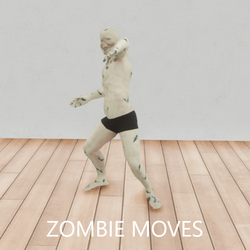 Zombie Attack Dummy-Animated
