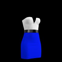 80's Day-Glow Club Dress 06