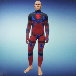 BioArmor ZV01 Body Male Red