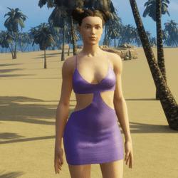 MIA mini dress purple