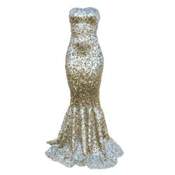 Mermaid Dress AV2 silver