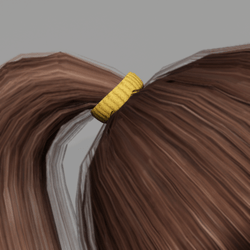 Elastic for Pony Tail - Yellow