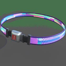 Seatbelt Belt (Miami Glow) [Female]