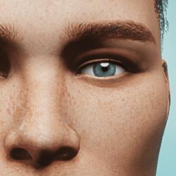 Eyes - Blue - Men's