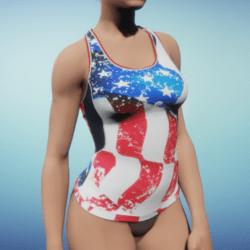USA Sleeveless