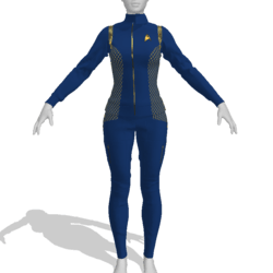 AV2 - Star Trek Discovery Female Uniform Replica