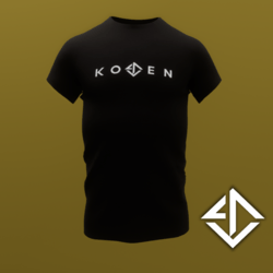 CLASSIC KOVEN T-SHIRT - BLACK